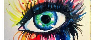 Colourful Tears - Watercolour Class for Beginners