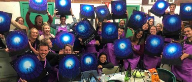 Christmas Team Building - Corporate EOY Painting Party
