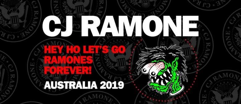 CJ Ramone – Hey Ho Lets Go – Ramones Forever Tour