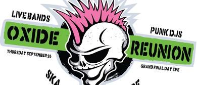 Oxide Reunion – Bands and DJs