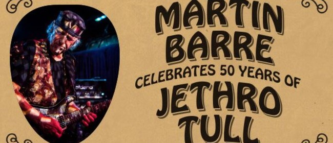 Image for Martin Barre – Celebrates 50 Years of Jethro Tull