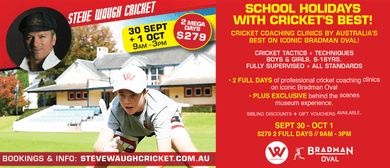 School Holidays – Steve Waugh Cricket Clinic