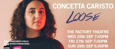 Concetta Caristo In Loose: Sydney Fringe Comedy