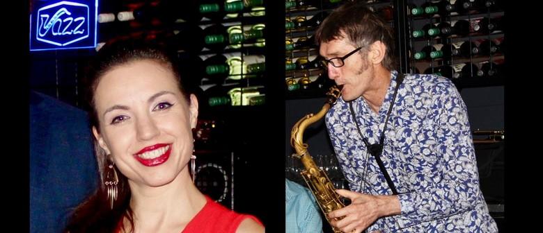 Charlotte Jane & Tony Hicks feat. with JMQ Jazz Ensemble