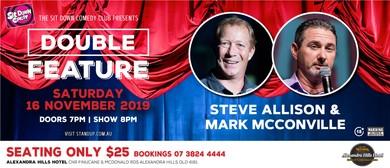 Comedy Double Feature – Steve Allison & Mark McConville
