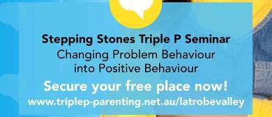 Triple P – Stepping Stones Seminar