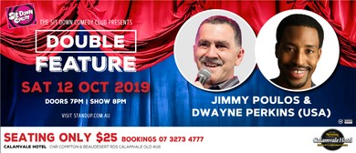 Comedy Double Feature – Jimmy Poulos & Dwayne Perkins