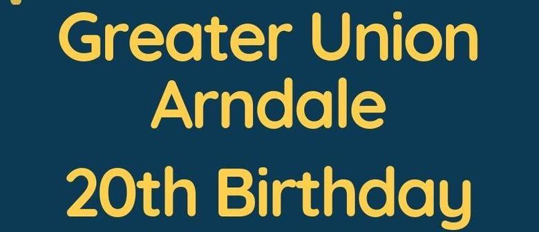 Greater Union Arndale's 20th Birthday Celebration