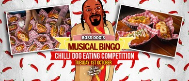 Boss Dog's Musical Bingo – Chilli Dog Eating Competition