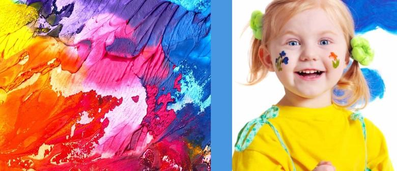 Coloured Air Dry Clay Fun – Kids Art Workshop