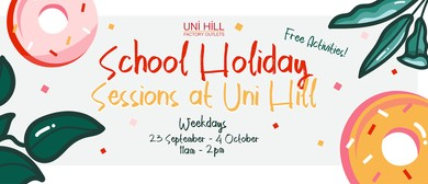 School Holiday Sessions