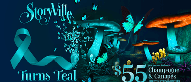 StoryVille Turns Teal: In Support of Ovarian Cancer