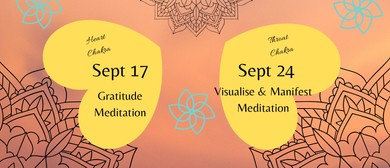 Guided Meditations on Tuesdays