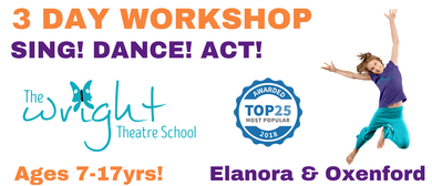 3-Day Holiday Workshop: Sing-Dance-Act