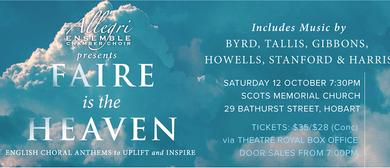 Faire Is the Heaven: Allegri Ensemble
