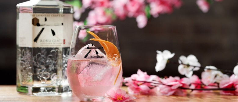 Roku Gin Sakura Pop-Up Bar