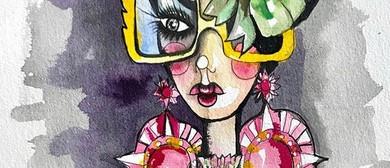 Millinery Fashion Illustration Workshop