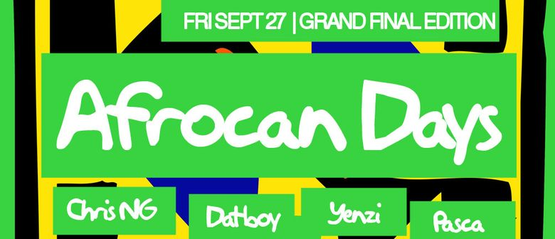 Afrocan Days Grand Final Edition