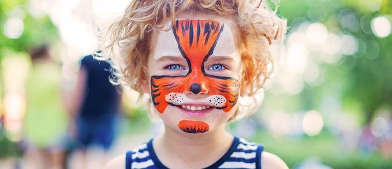 School Holiday Fun – Face Painting & Balloon Making