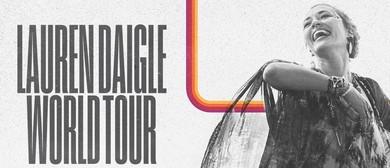 Lauren Daigle 2020 World Tour