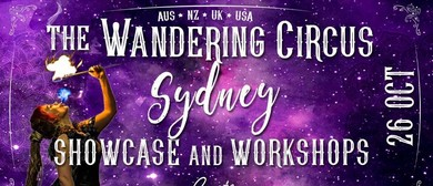 Wandering Circus – Halloween Showcase & Workshops