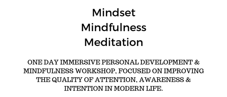 1-Day Mindset Mindfulness Meditation Retreat