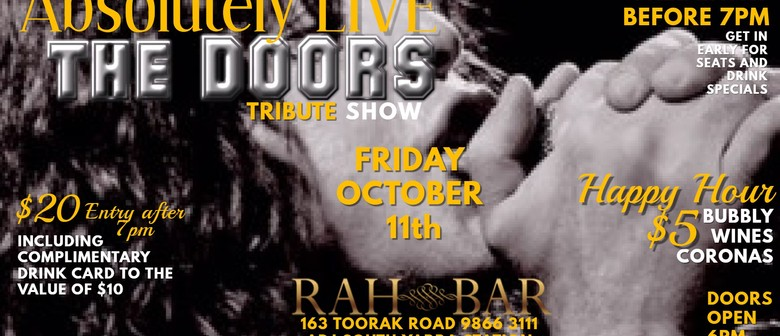 Absolutely Live – The Doors Tribute Show