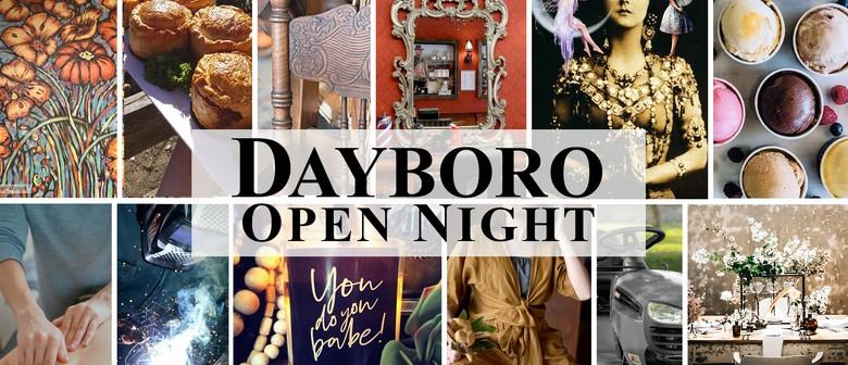 Dayboro Open Night 2019