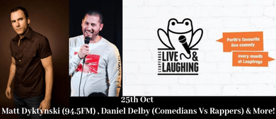 Leapfrogs Live & Laughing Comedy Night