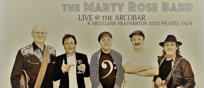 The Marty Rose Band – Exclusive Christmas Eve Twilight Show