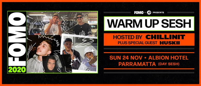 Warm Up Sesh Ft. Chillinit: SOLD OUT