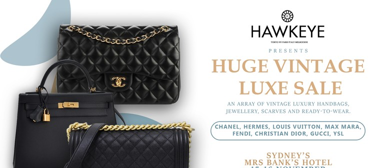 Vintage 2-Day Luxury Handbag and Accessories Sale