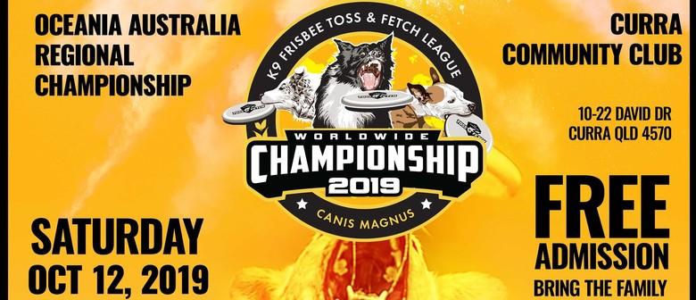K9 Toss & Fetch Frisbee Worldwide Championships