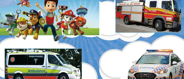 Meet Your Local Emergency Services: Paw Patrol Movie Release