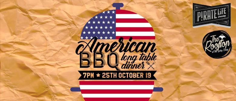 American BBQ Long Table Dinner