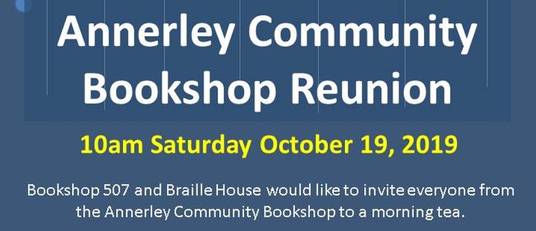 Annerley Community Book Store Reopening