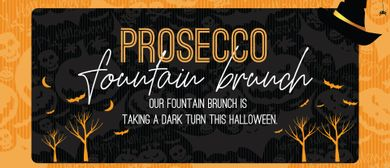 Prosecco Fountain Brunch: The Halloween Edition