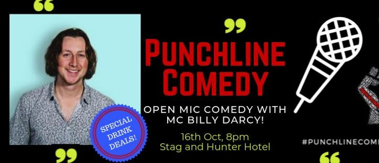 Punchline Comedy with Billy Darcy