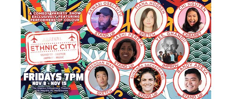 Ethnic City – A P.O.C Comedy Variety Hour