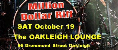 Million Dollar Riff – A Classic Rock Experience