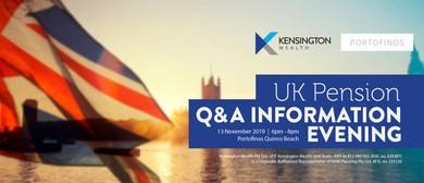 UK Pension Q&A Evening