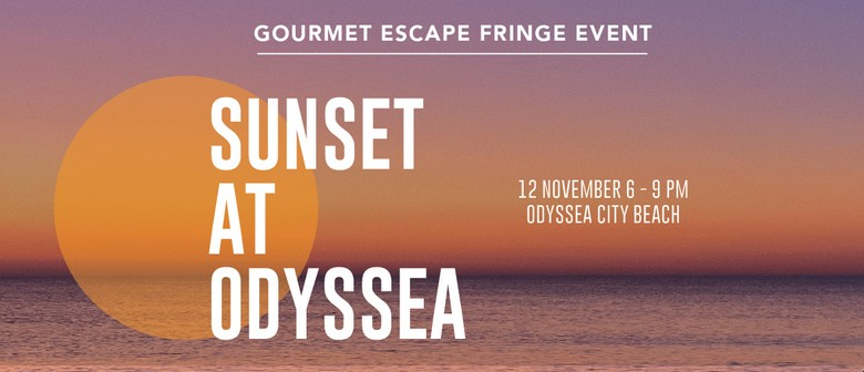 Sunset at Odyssea | A Gourmet Escape Event