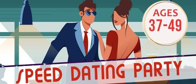 Speed Dating Singles Party Ages 37–49