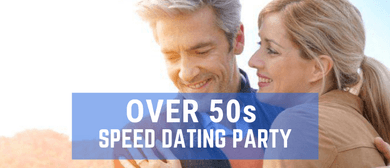 Speed Dating Singles Party Over 50s