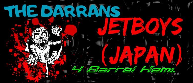 The Jetboys, The Darrans, 4 Barrel Hemi