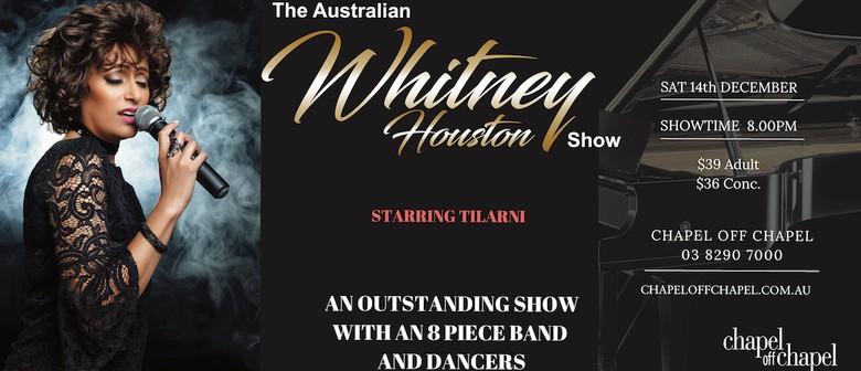 Australian Whitney Houston Show