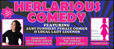 HERlarious Comedy BCNA Fundraiser