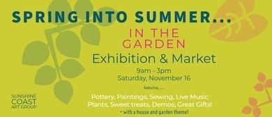 Spring Into Summer – Art Exhibition & Market