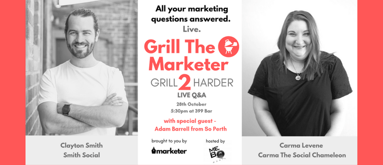 Grill The Marketer II – Grill Harder
