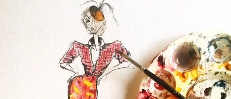 Fashion Illustration For Kids Workshop With Estelle